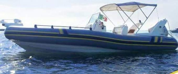 Location Semi-rigide à Golfo Aranci - Marlin Boat Marlin Boat 20 FB Top