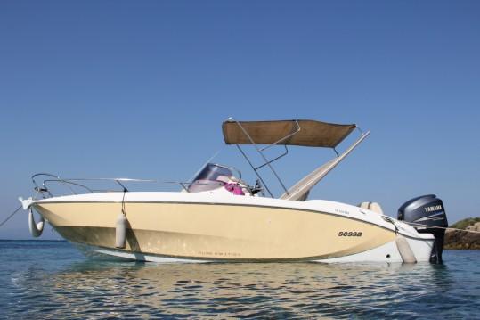 Louez un Sessa Marine Key Largo 24 à La Seyne-sur-Mer