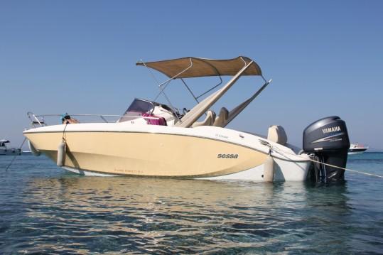 Location Bateau à moteur à La Seyne-sur-Mer - Sessa Marine Key Largo 24