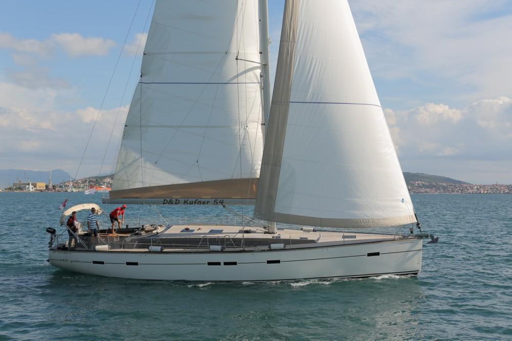 Boat rental Trogir cheap D&D Kufner 54