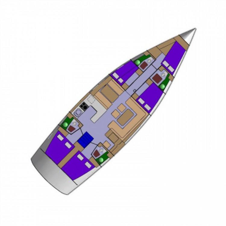 Rental Sailboat Dd Yacht with a permit