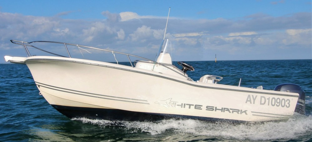 Location Bateau à moteur à Bangor - White Shark White Shark 205