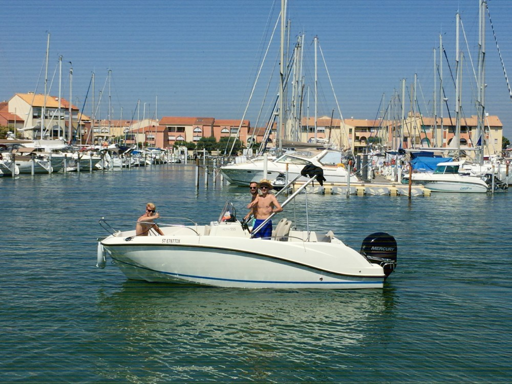 Hire Motor boat with or without skipper Quicksilver Mauguio