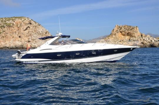 Location bateau Sunseeker Camargue 44 à Calvià sur Samboat