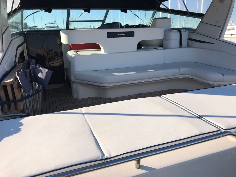 Boat rental Pozzuoli cheap Sea Ray 450 Sundancer