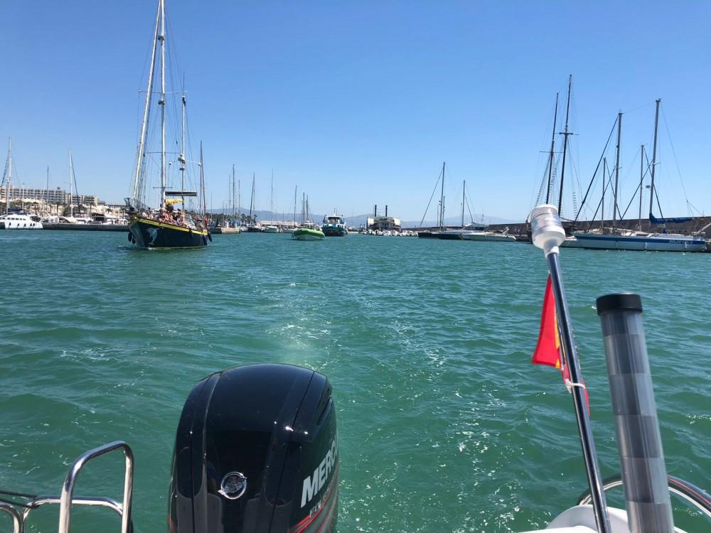 Location bateau Benalmádena pas cher Keope 590