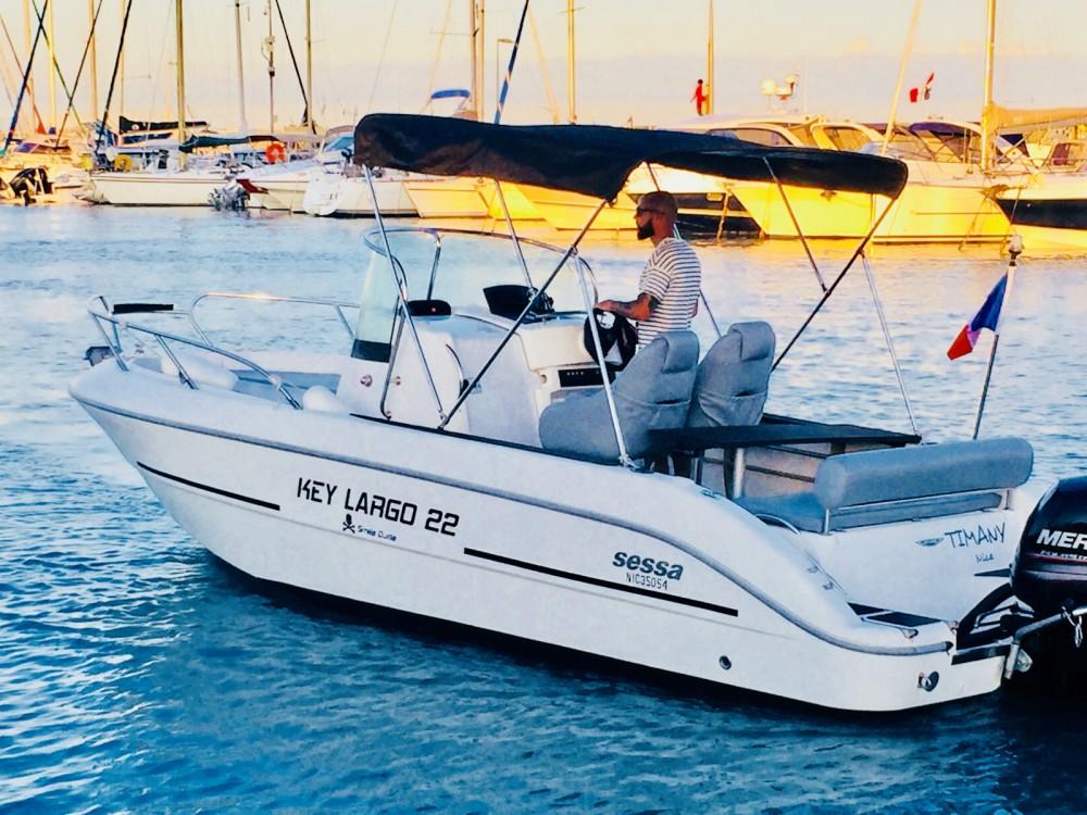 Bootsverleih Sessa Marine Key Largo 22 Saint-Laurent-du-Var Samboat
