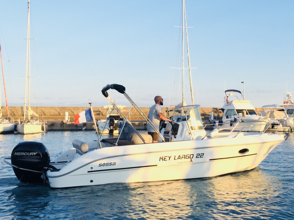Yacht-Charter in Saint-Laurent-du-Var - Sessa Marine Key Largo 22 auf SamBoat