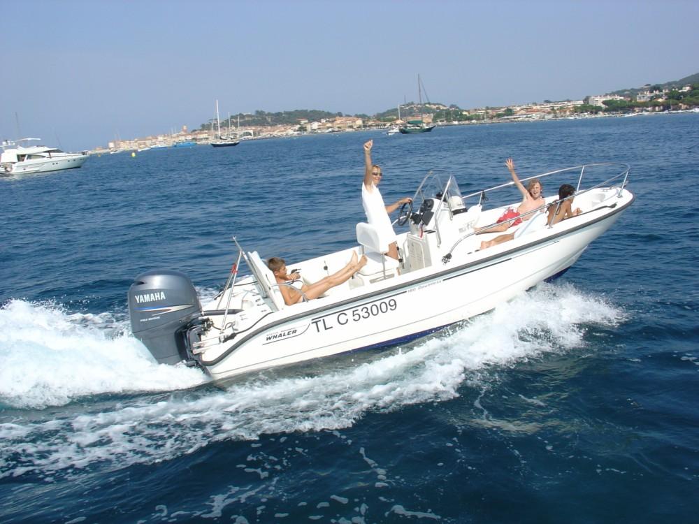 Boston Whaler Boston Whaler 18 Dauntless zwischen Privatpersonen und professionellem Anbieter Saint-Tropez