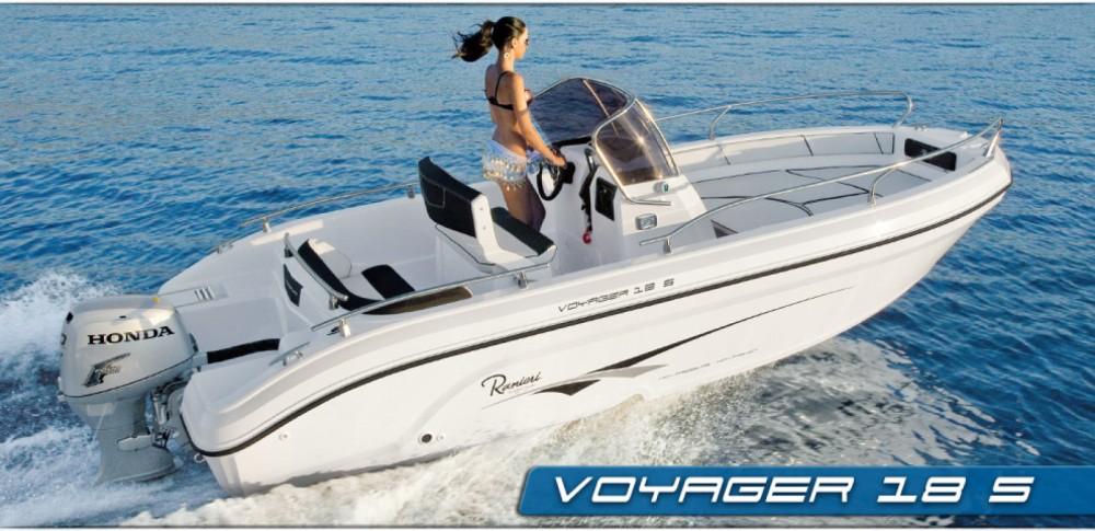 Location yacht à Fréjus - Ranieri Voyager 18 S sur SamBoat