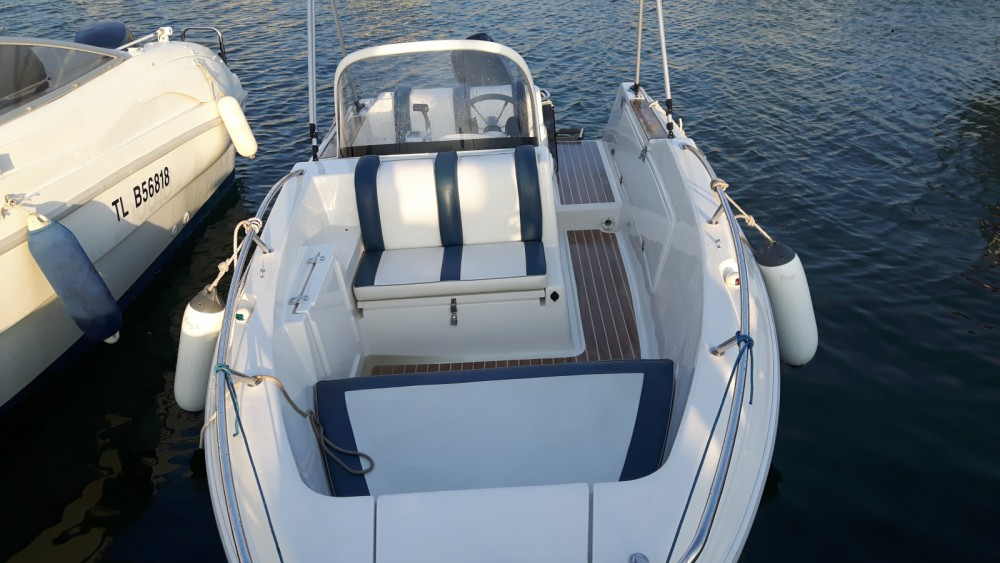 Verhuur Motorboot in Cogolin - Quicksilver Quicksilver 500 Commander