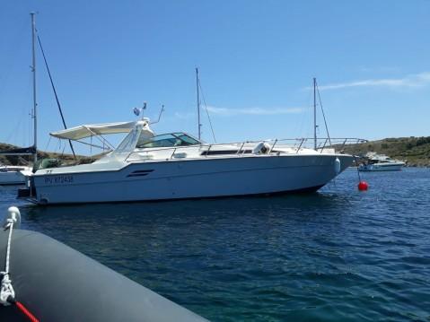 Location bateau Roses pas cher Sea Ray 460