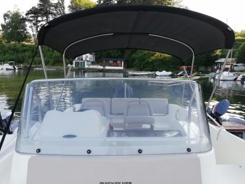Location bateau Quicksilver Activ 675 Sundeck à Excenevex sur Samboat