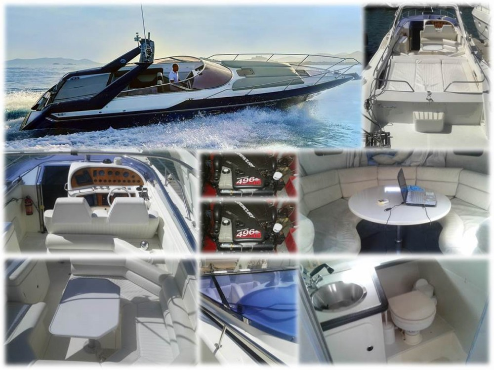 Location yacht à la Savina - Sunseeker Thunderhawk 43 sur SamBoat