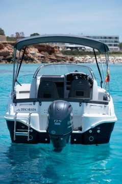 Location Bateau à moteur à Ibiza - Jeanneau Cap Camarat 5.5 WA