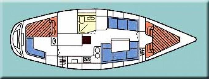 Louez un Marine Project Moody 346 à Roquetas de Mar