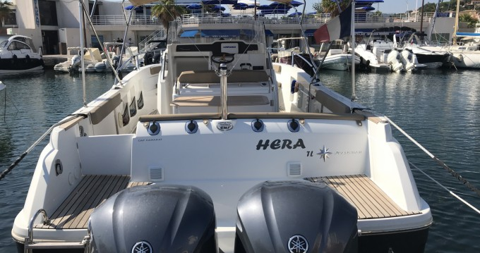 Rental yacht Sainte-Maxime - Jeanneau Cap Camarat 8.5 CC on SamBoat