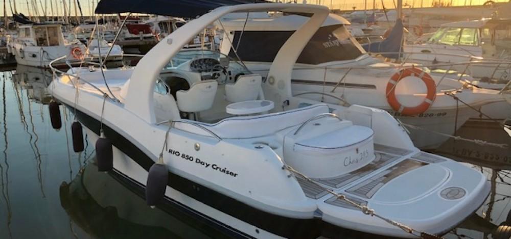 Motorboot mieten in el Masnou - Rio Rio 850 Day Cruiser