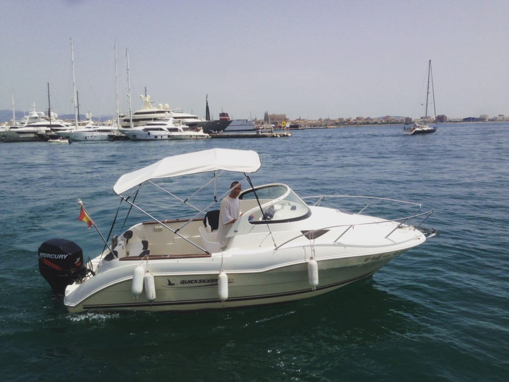 Yacht-Charter in Palma - Quicksilver Quicksilver 620 Cruiser auf SamBoat