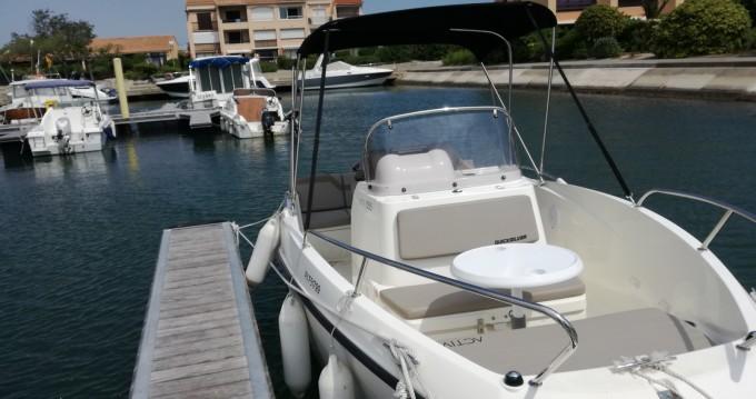 Boat rental Saint-Cyprien cheap Activ 555 Open