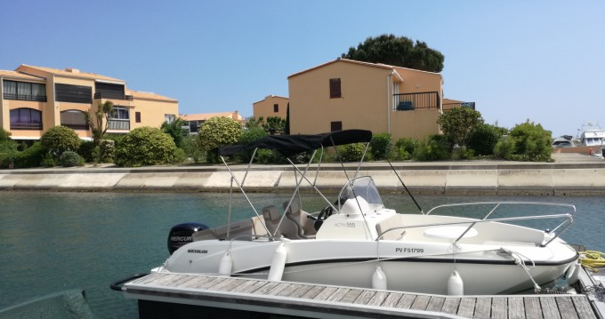 Hire Motor boat with or without skipper Quicksilver Saint-Cyprien