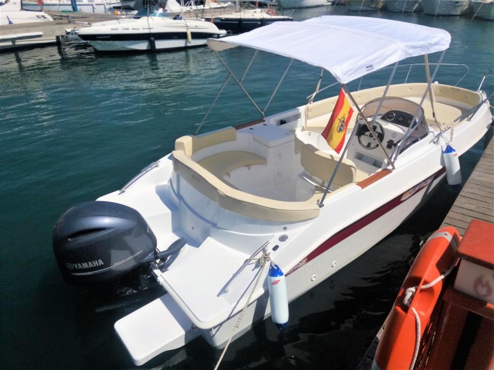 Vermietung Motorboot Marinello mit Führerschein