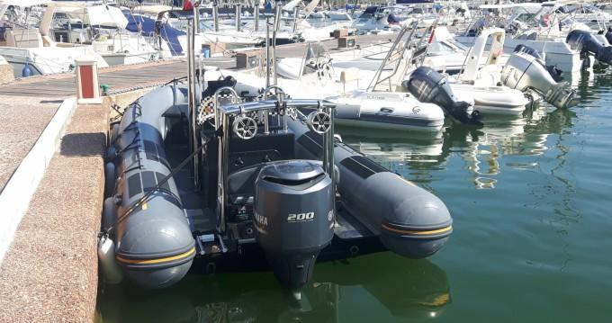 Location yacht à Saint-Tropez - Capelli Tempest 700 Work sur SamBoat