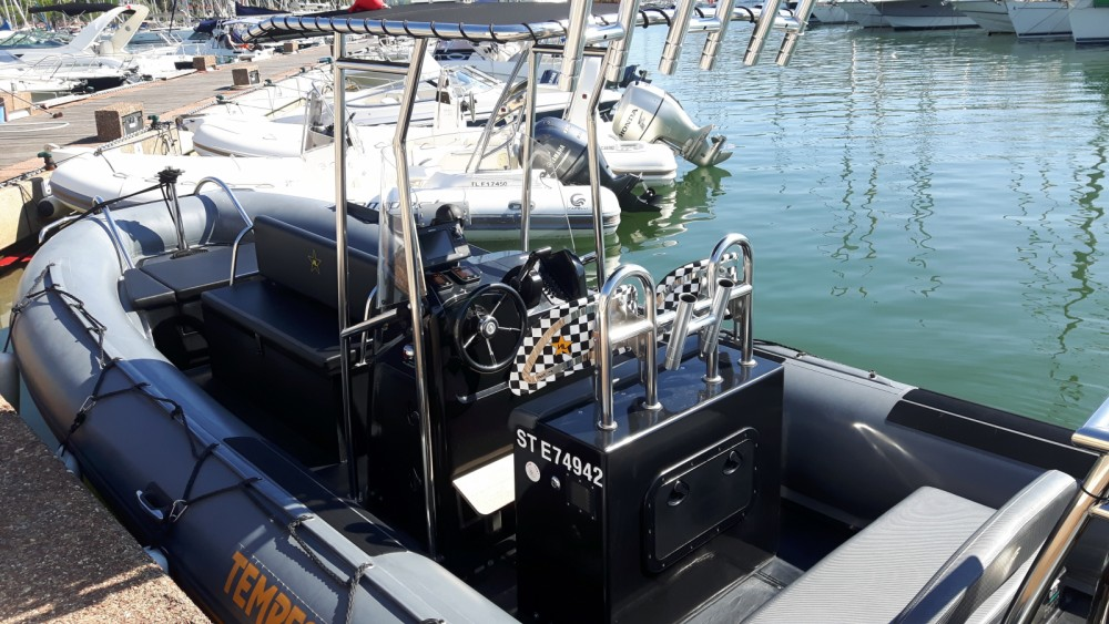 Rental RIB in Saint-Tropez - Capelli Tempest 700 Work