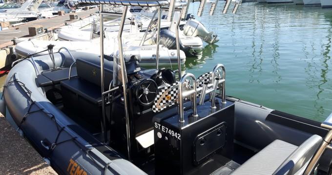 Capelli Tempest 700 Work entre particuliers et professionnel à Saint-Tropez