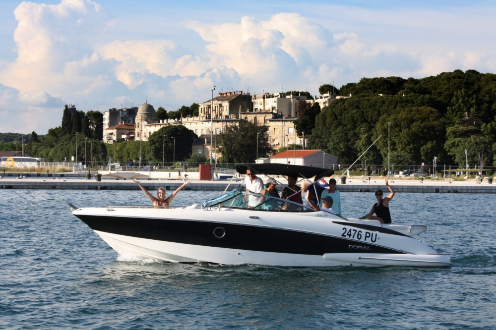 Motor boat for rent ACI Marina Pula at the best price