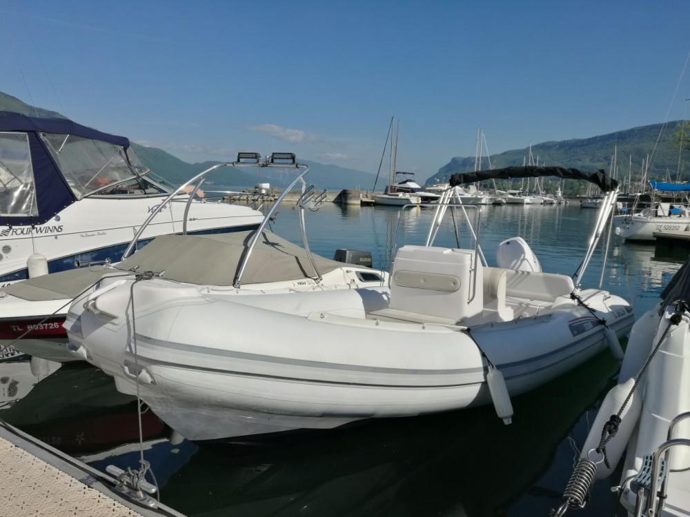 location semi-rigide selva selva 680 bateau semi-rigide 7 m  lac du bourget