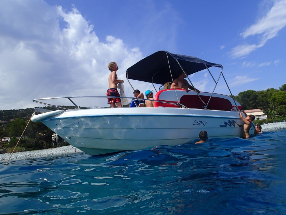 Hire Motor boat with or without skipper Conero Mandelieu-la-Napoule