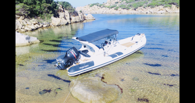 Location Semi-rigide à Campomoro - Mar.Co Mac mariner 830