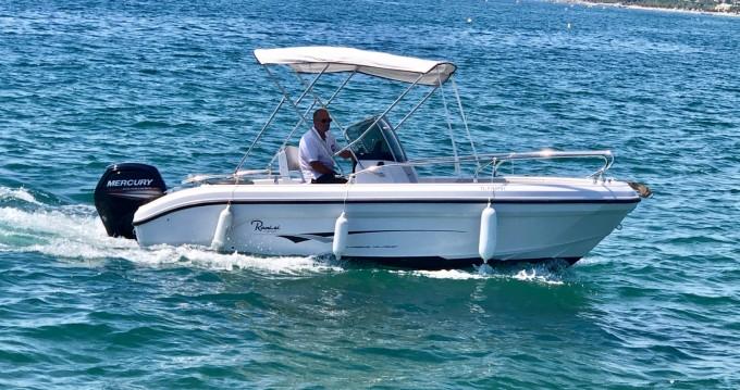 Louer Bateau à moteur avec ou sans skipper Ranieri à Saint-Raphaël