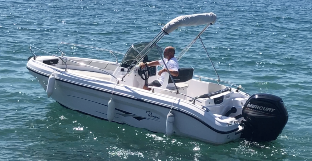 Ranieri Voyager 18 S entre particuliers et professionnel à Fréjus