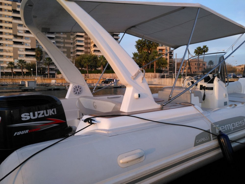 Capelli Tempest 770 between personal and professional Palma