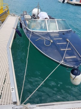 Motor boat for rent Savines-le-Lac at the best price