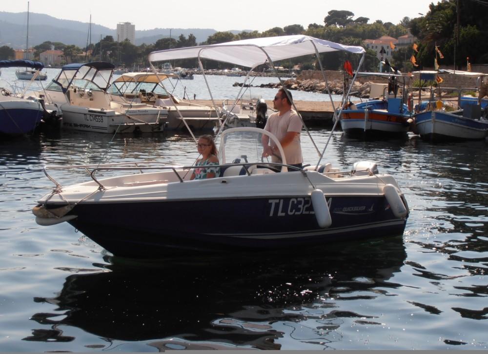 Motorboot mieten in La Seyne-sur-Mer - Quicksilver Quicksilver 500 Commander