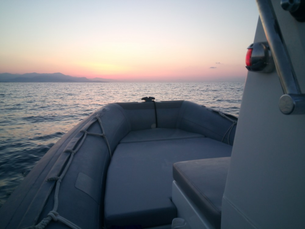 Verhuur Rubberboot in Antibes - Capelli Tempest 500 Work