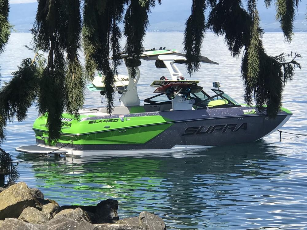 Location bateau Supra SL 450 à Évian-les-Bains sur Samboat