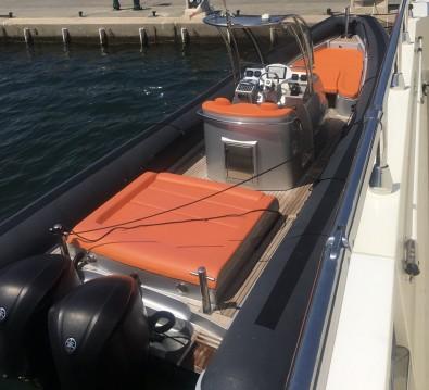 Louer Semi-rigide avec ou sans skipper Sea Water à Port Grimaud