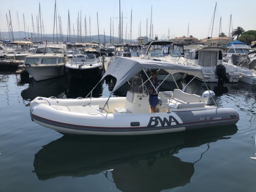 Bwa Sport 19 GT entre particuliers et professionnel à Le Lavandou