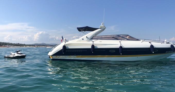 Location Bateau à moteur à Cannes - Sunseeker Comanche 40