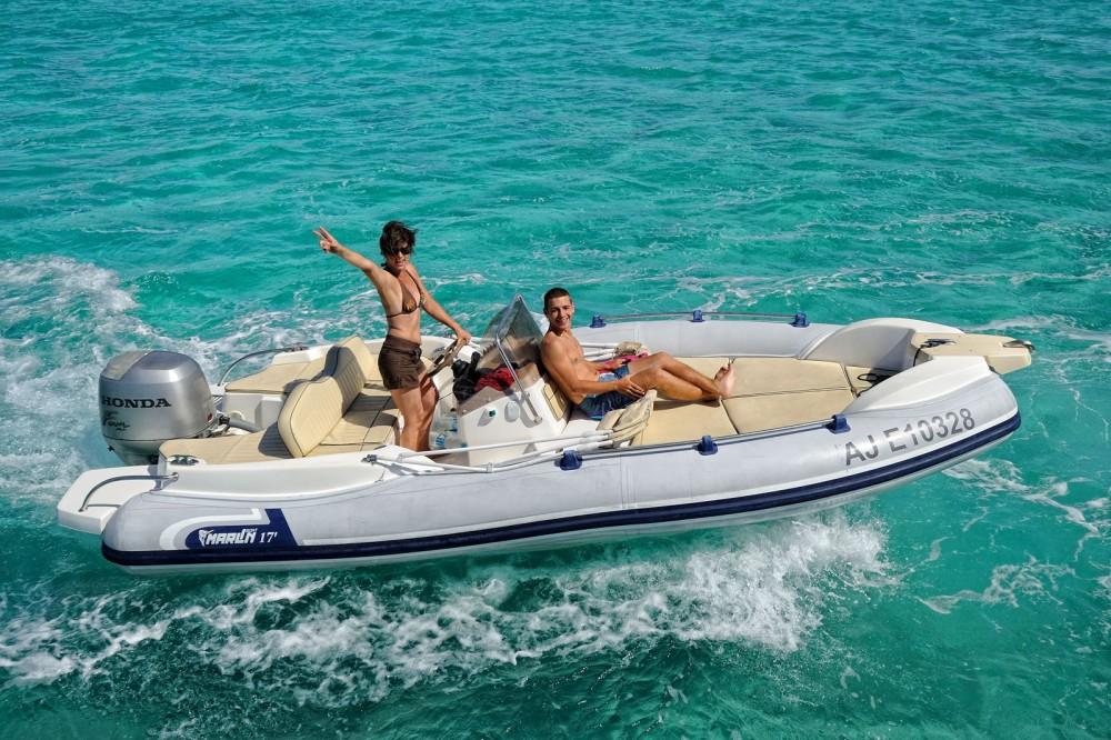 Rental RIB in Porto-Vecchio - Marlin Marlin Boat 17 FB