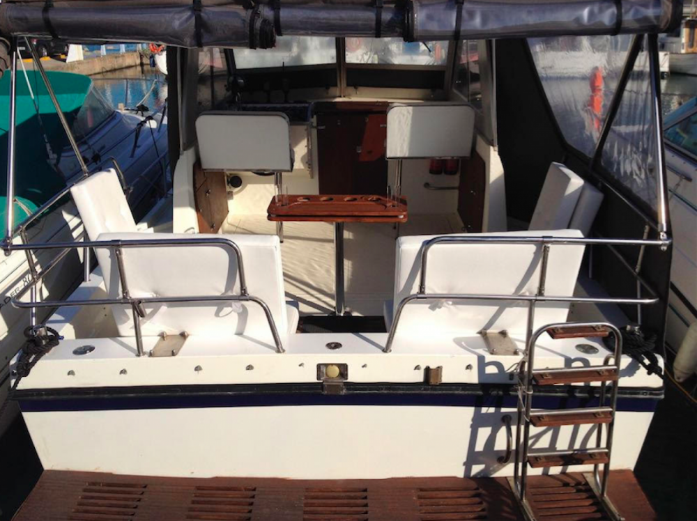 Yacht for rent Sitges at the best price