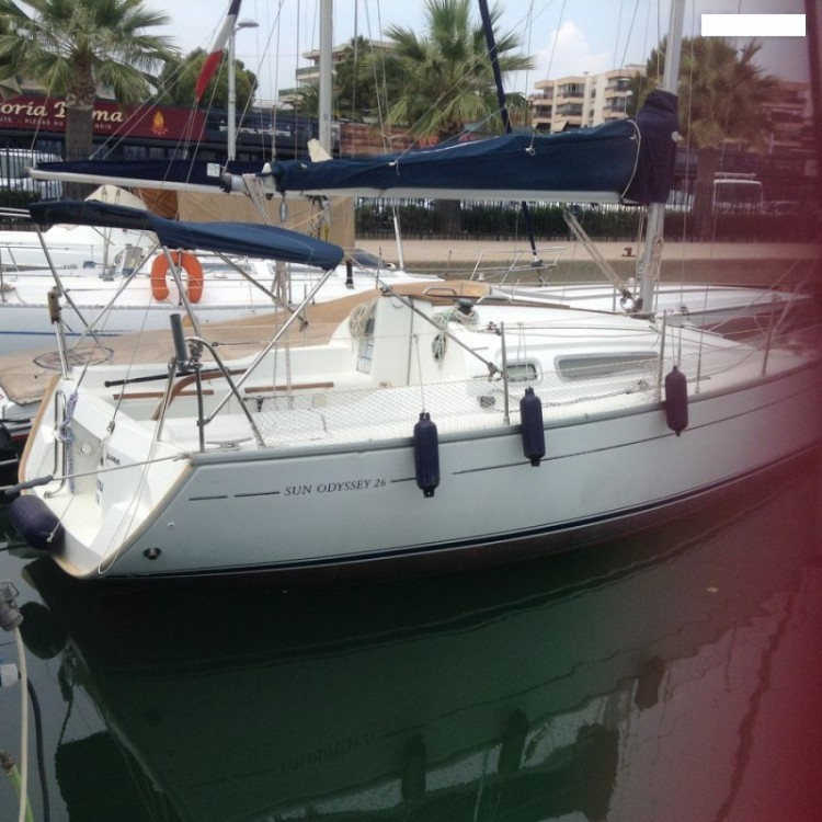 Bootsverleih Saint-Laurent-du-Var günstig Sun Odyssey 26