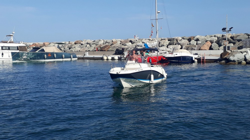 Noleggio barche Quicksilver Activ 605 Open Sainte-Maxime su Samboat