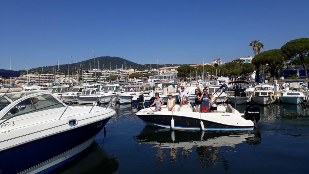 Motorboot te huur in Sainte-Maxime voor de beste prijs