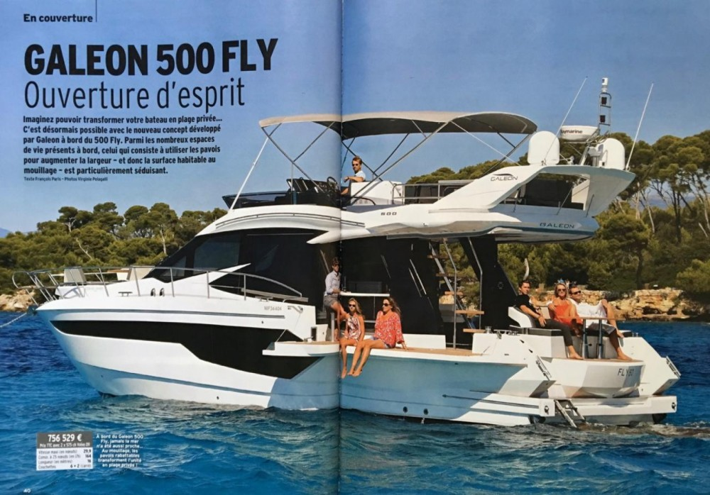 Location yacht à Cannes - Galeon Galeon 500 Fly sur SamBoat