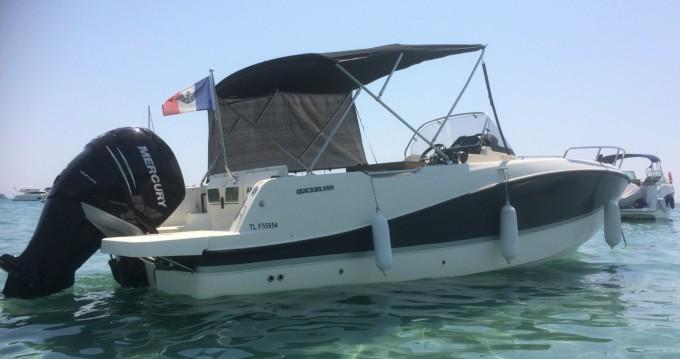 Location yacht à Hyères - Quicksilver Activ 755 Open sur SamBoat